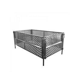 Loofrek aluminium vouwbaar voor aanhanger 2075x1140x660mm