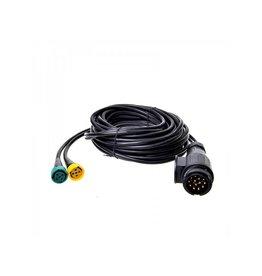 Proplus Kabelset 7M met stekker 13-polig en 2x connector 5-polig
