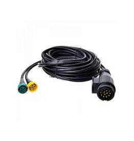 Proplus Kabelset 9M met stekker 13-polig en 2x connector 5-polig
