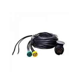 Proplus Kabelset 9M met stekker 13-polig en 2x connector 5-polig + 6M DC