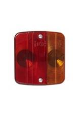 Proplus Achterlicht 4 functies 98x104mm incl.gloeilampjes