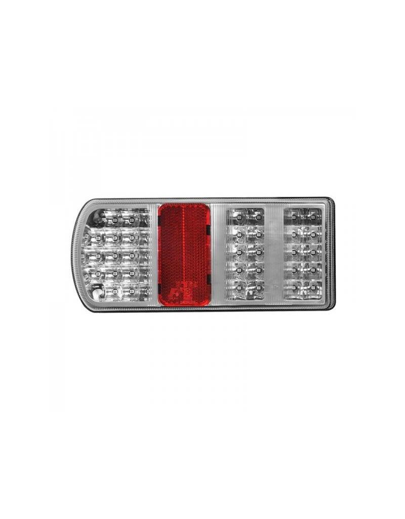 Proplus Achterlicht 5 functies 225x105mm 43LED links