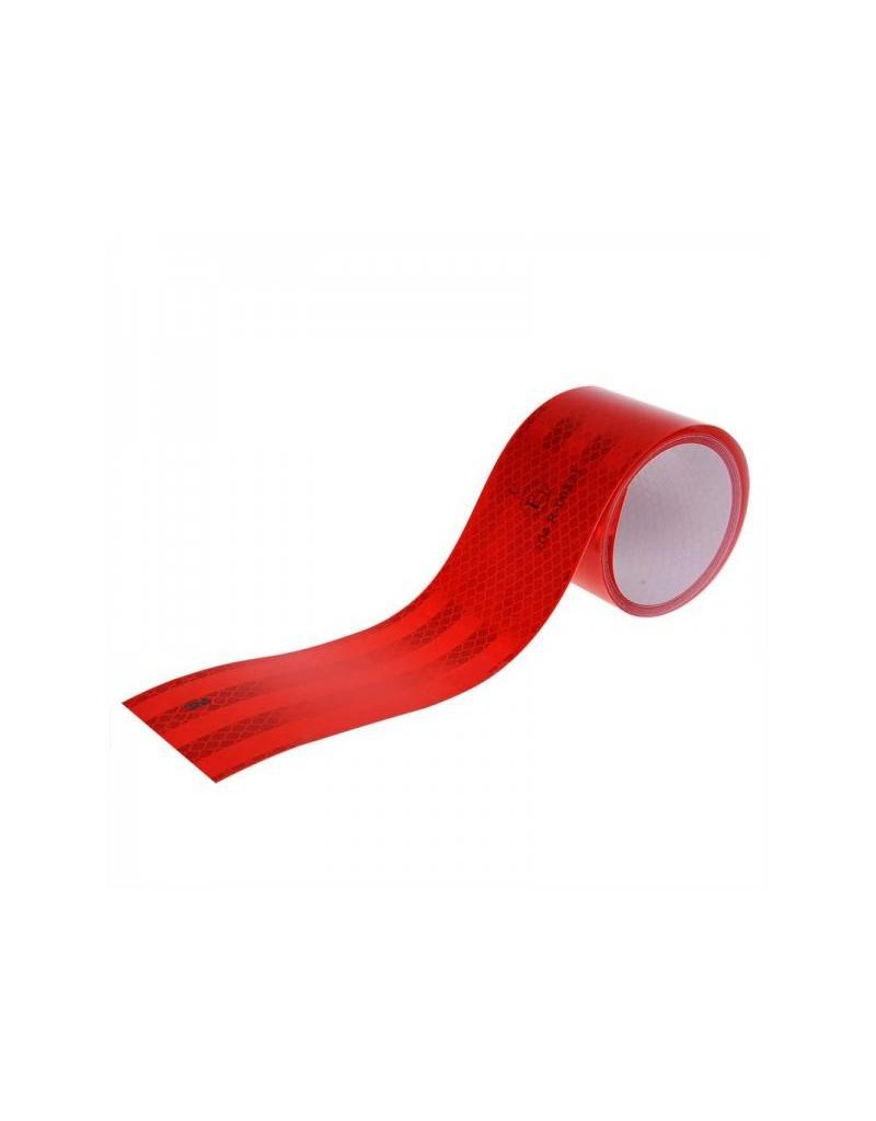 Reflecterend tape 3M rood 50mm/2M