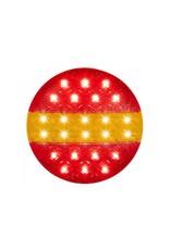 Proplus Achterlicht 12/24V 3 functies 140mm STI LED