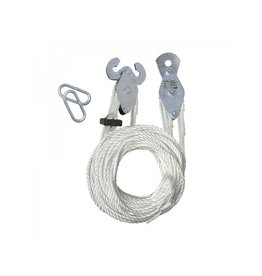 Handtakel met 20M nylon touw