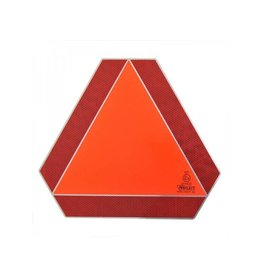 "Proplus Markeringsbord aluminium ""Langzaam verkeer"""