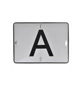 """Proplus Markeringsbord aluminium """"A"""""""