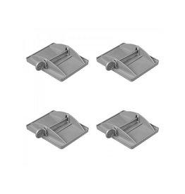 Proplus Stabilisatievoeten XL set van 4 stuks