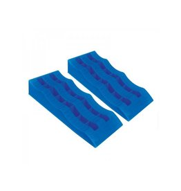 Oprijblok blauw set van 2 stuks