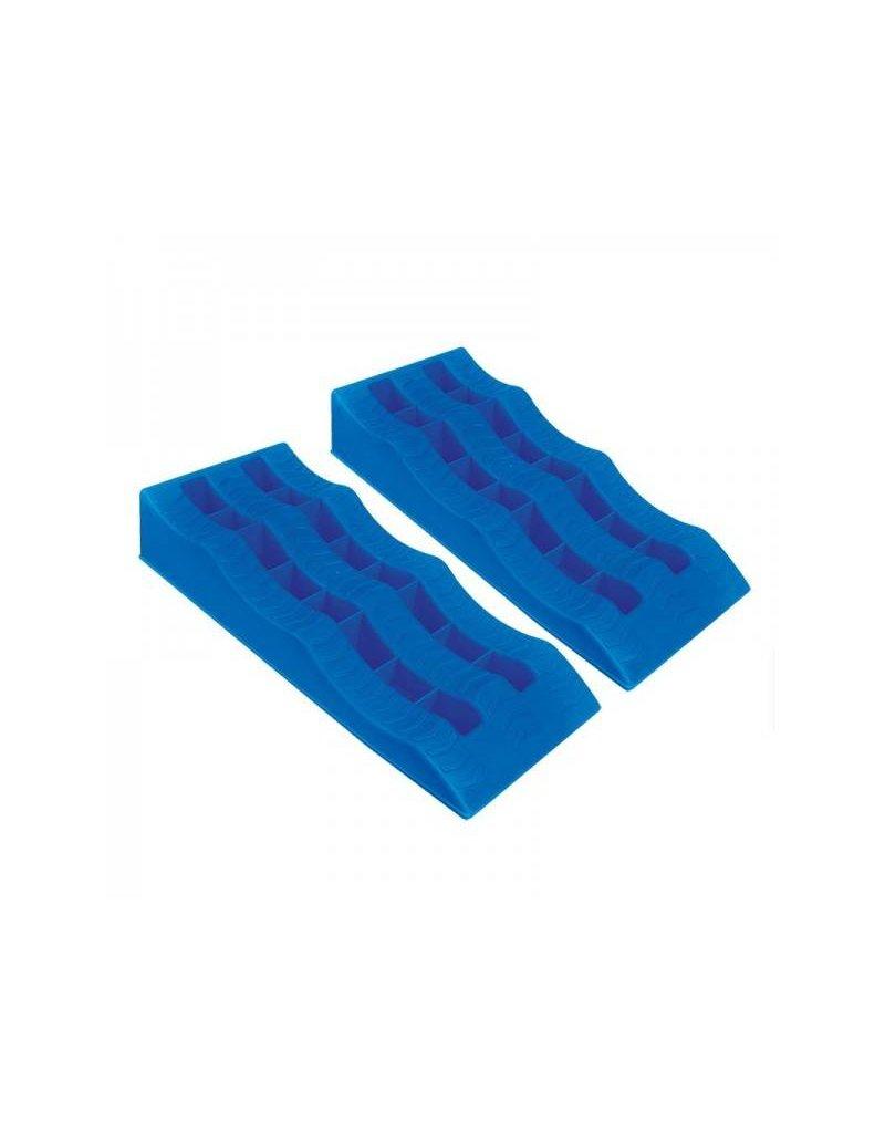 Proplus Oprijblok blauw set van 2 stuks