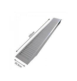 Oprijplaat aluminium 200x30,5cm 1655kg per stuk