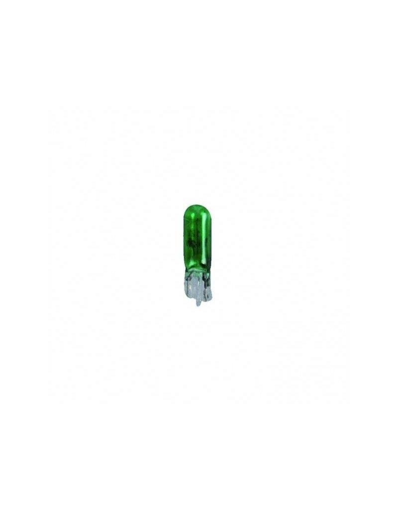 Proplus Autolamp 12V 1,2W T5 W2x4,6d groen 2x