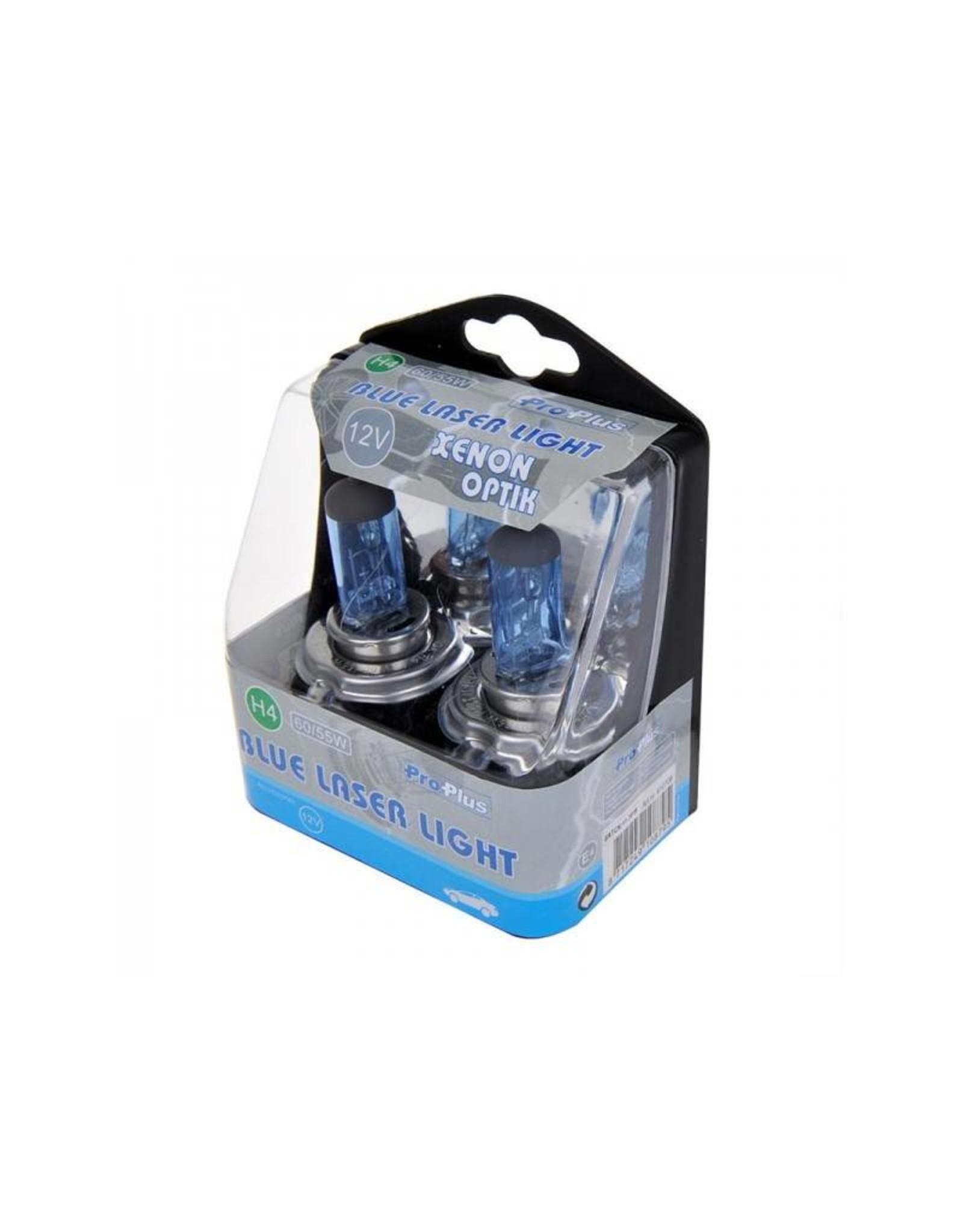 Blue Laser Light 12V 60/55W H4 2x