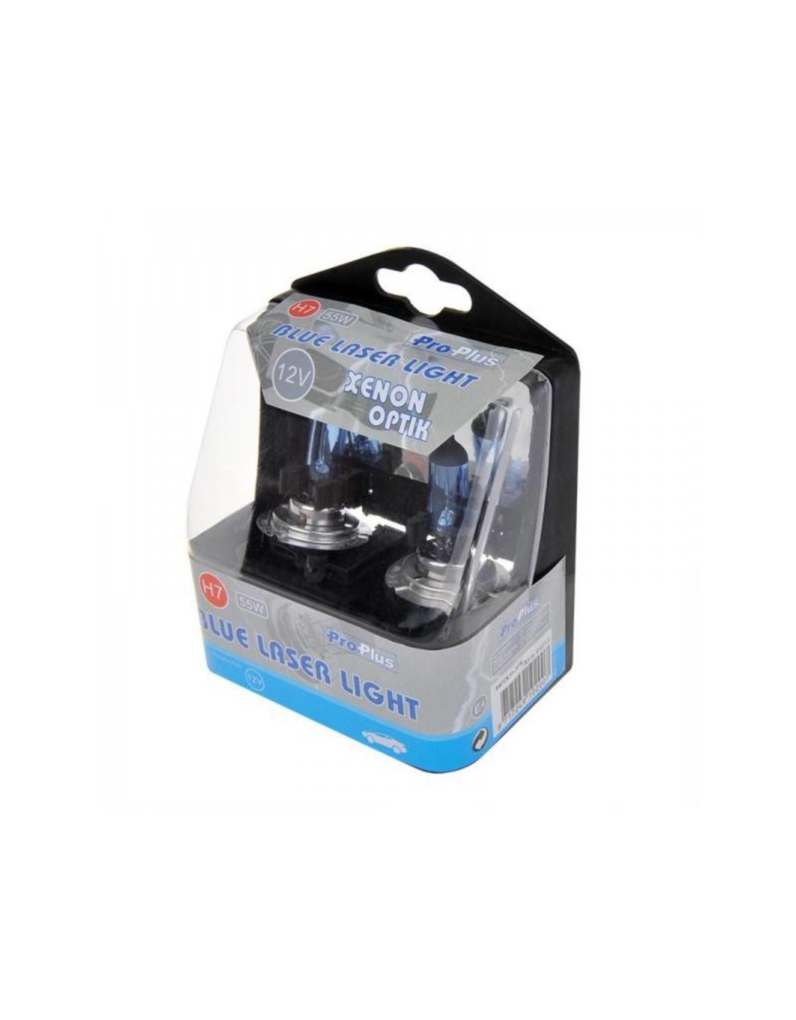 Blue Laser Light 12V 55W H7 2x