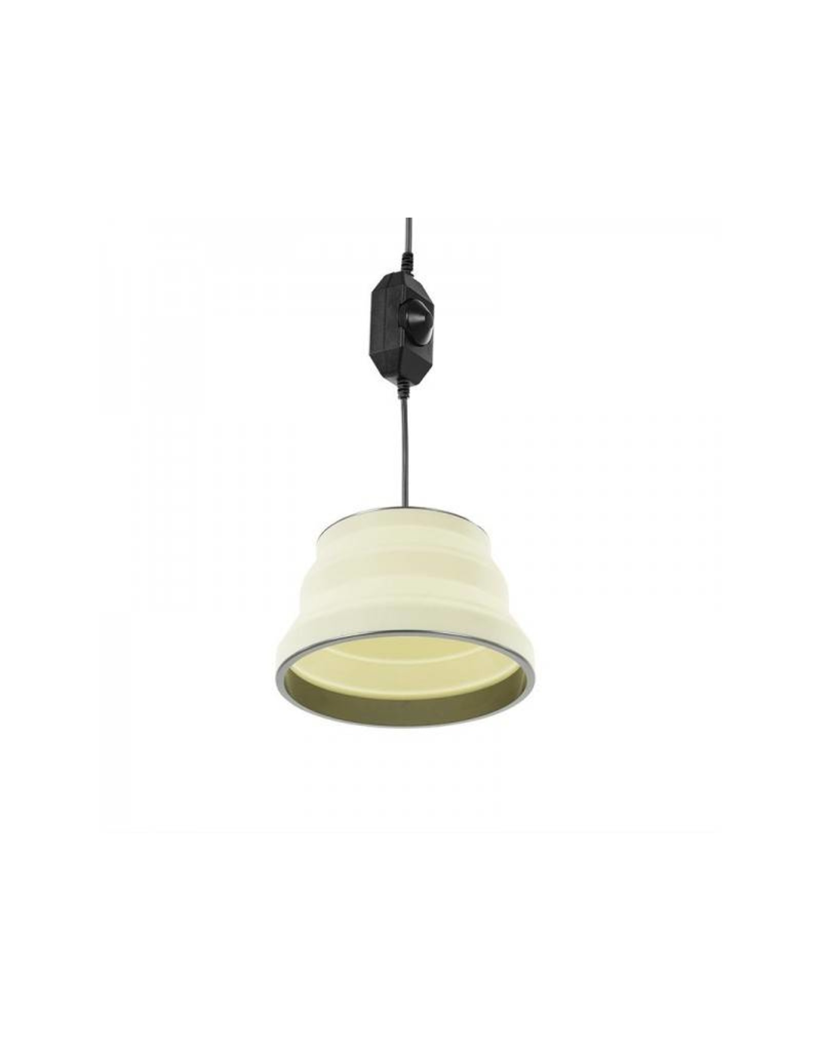 Hanglamp LED opvouwbaar silicone wit ?20cm