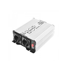 Proplus Omvormer 12V-230V 600W/1200W + USB