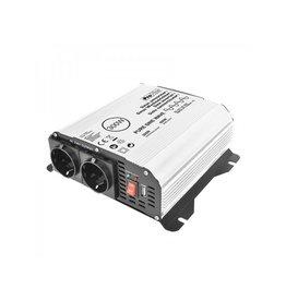 Proplus Sinus-omvormer 12V-230V 300W/600W + USB