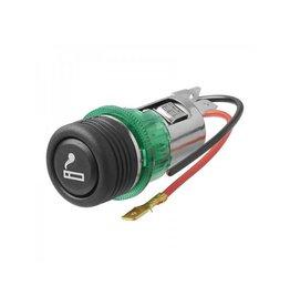 Proplus Sigarettenaansteker inbouw-doos met verlichting 12V