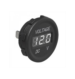 Voltmeter digitaal inbouw 6-30V