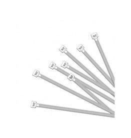Kabelbinders 200x4,5mm 100 stuks wit
