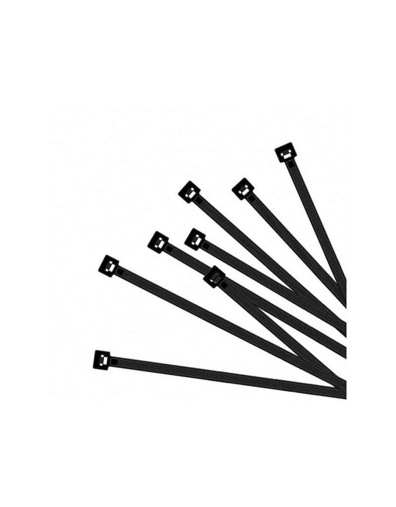 Kabelbinders 370x7,5mm 50 stuks zwart