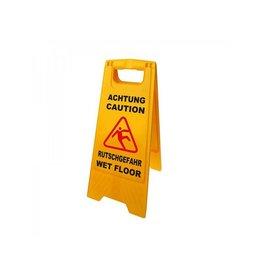 """Proplus Waarschuwingsbord """"Opgepast gladde vloer"""""""