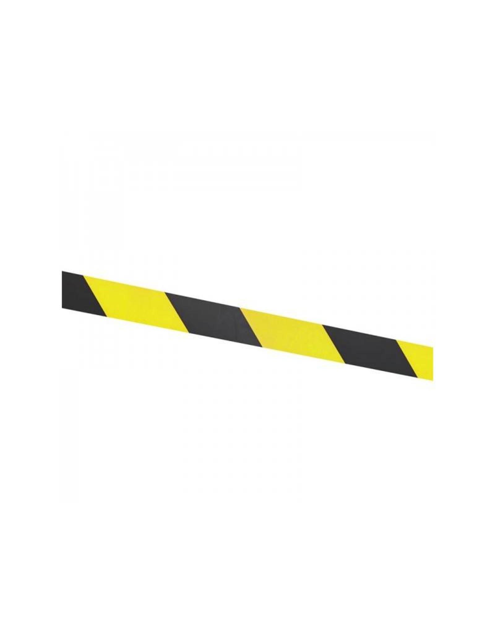 Afzetlint geel/zwart