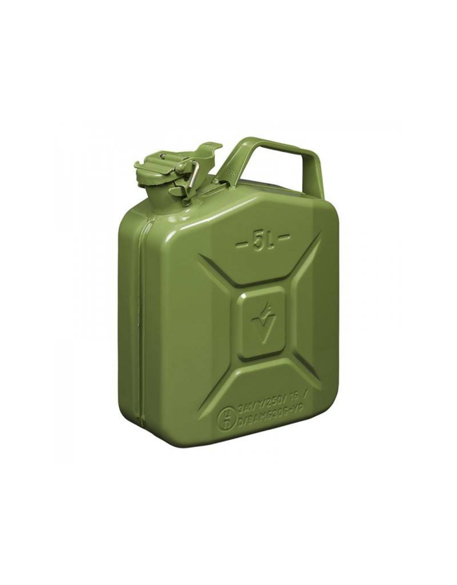 Jerrycan 5L metaal groen UN- & T?V/GS-gekeurd