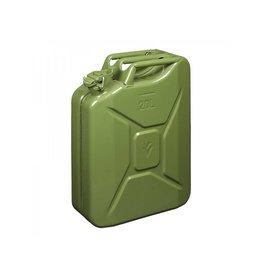 Jerrycan 20L metaal groen UN- & T?V/GS-gekeurd