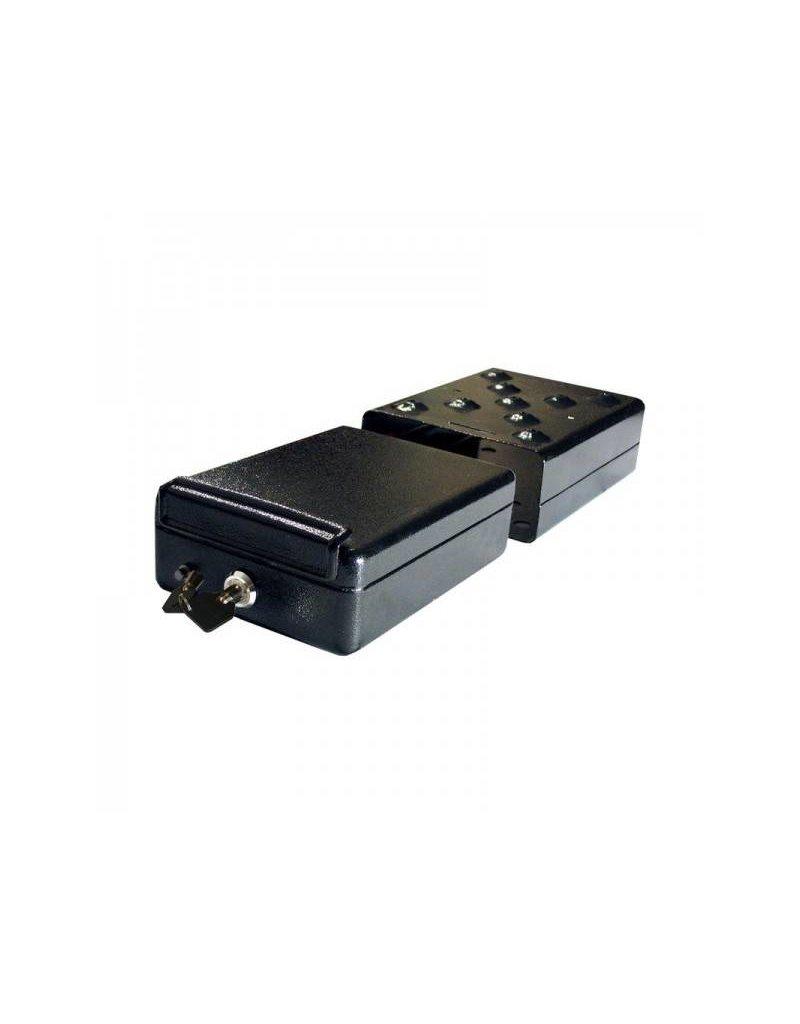 Proplus Stalen kluis 225x165x85mm met slede