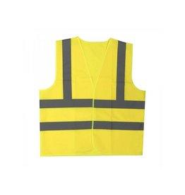 Proplus Veiligheidsvest geel XL met schouderstrepen