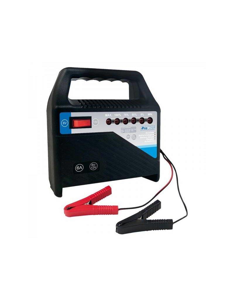 Proplus Acculader 6V/12V 6Amp.