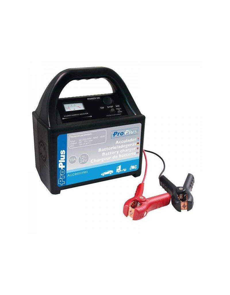 Proplus Acculader 12V/24V 15Amp.