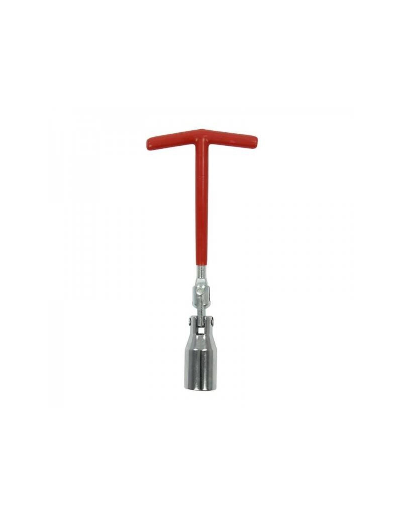 Bougiesleutel 21mm met zwenkkop