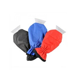 IJskrabber met handschoen Fleece