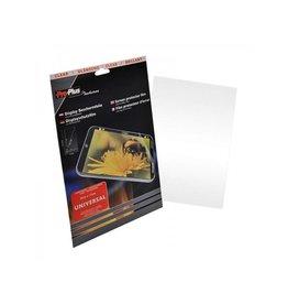 Proplus Display beschermfolie 1 stuk Universeel 25,6x17cm - Clear