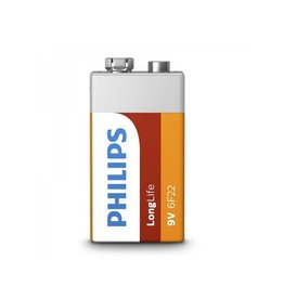 Proplus Philips Longlife batterij 9V in blister