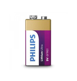 Philips Philips Lithium Ultra batterij 9V in blister