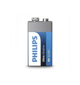 Philips Philips Ultra Alkaline batterij 9V in blister