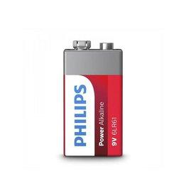 Philips Philips Power Alkaline batterij 9V in blister