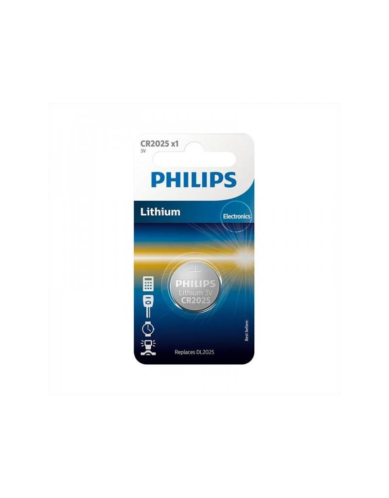 Proplus Philips Lithium CR2025 3.0V (20.0 x 2.5) in blister