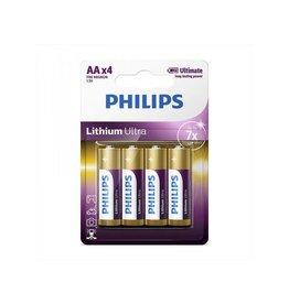 Proplus Philips Lithium Ultra batterijen AA 4 stuks in blister