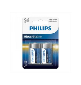 Proplus Philips Ultra Alkaline batterijen C 2 stuks in blister