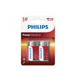 Proplus Philips Power Alkaline batterijen C 2 stuks in blister