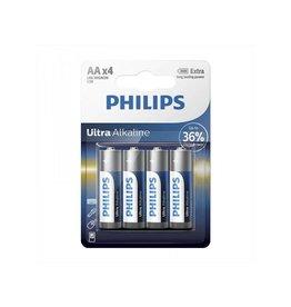 Philips Philips Ultra Alkaline batterijen AA 4 stuks in blister