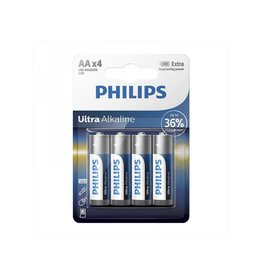 Proplus Philips Ultra Alkaline batterijen AA 4 stuks in blister