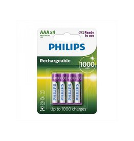 Proplus Philips batterijen AAA 1000 mAh Ready To Use 4 stuks in blister