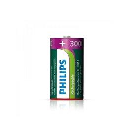 Philips Philips batterijen C 3000 mAh 2 stuks in blister