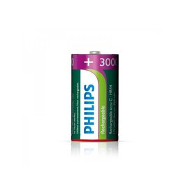 Proplus Philips batterijen C 3000 mAh 2 stuks in blister