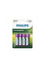 Proplus Philips batterijen AA 2600 mAh 4 stuks in blister